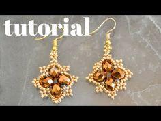 beaded earrings making Seed Bead Jewelry, Bead Jewellery, Seed Bead Earrings, Beaded Earrings, Earrings Handmade, Handmade Jewelry, Hoop Earrings, Diamond Jewelry, Jewellery Making