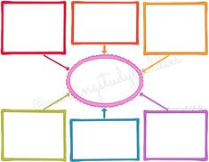 Colorful Plain Mind Map Combo Pack of 3 Poster Background Design, Powerpoint Background Design, Blank Mind Map, Mind Maps, Learn French, Learn English, English English, English Grammar, Mind Map Design