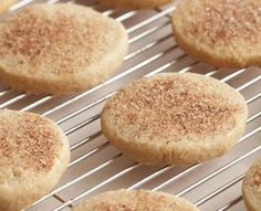 Cinnamon-Sugar Cookies diab friendly It's quick and easy to mix together these slice-and-bake cinnamon-sugar cookies whenever you need something sweet. The recipe makes enough dough so you can bake half and put the other half in the freezer—ready to pull out and bake up a few fresh cookies anytime.