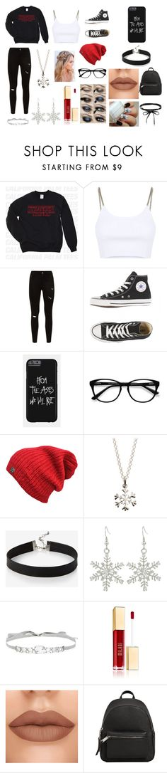 """""""a winter wonder land"""" by arrilover125 on Polyvore featuring Alexander Wang, EyeBuyDirect.com, Lily Charmed, Express, Jenny Packham and MANGO"""