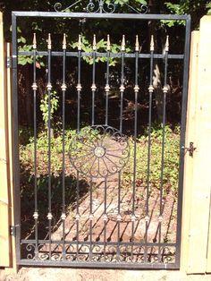 Custom 4'x6' wrought iron gate.