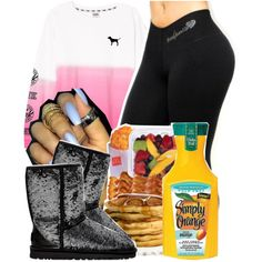 448 by tuhlayjuh on Polyvore featuring polyvore, fashion, style and UGG Australia