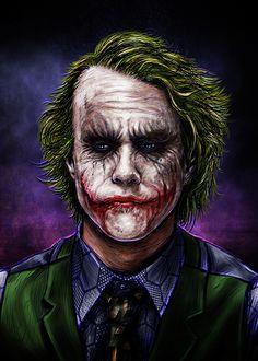 Gotham Joker, Joker Dc Comics, Joker Art, Joker And Harley Quinn, Gotham City, Batman Dark, Joker Cosplay, Art Station, Comic Covers