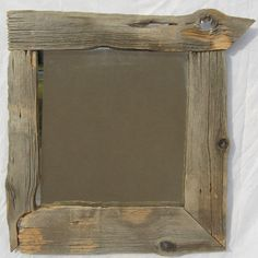 Barnwood Framed Bathroom Mirrors barnwood framed mirror with shelf • via etsy | things twisted