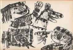 Emanuele Luzzati - Chichibio e la gru, 1961
