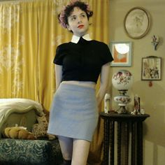 """High Waist 90s Inspired Vintage Skirt ♡ 12.5"""" across waist ♡ ♡ 17"""" across hips ♡ ♡ 14"""" long ♡   This 100% polyester skirt by Betty Blue is in excellent condition. Waistband is elasticized and has about 1.5"""" of give. The rest of the skirt has about 3"""" of stretch. Size tag says small, and the skirt is unlined. Betty Blue Skirts Mini"""
