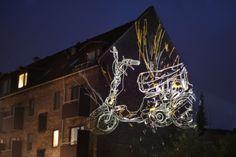 Street Art- Lights in Copenhagen