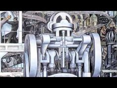 """""""Detroit Industry"""" by Diego Rivera - for Labor Day 2011"""