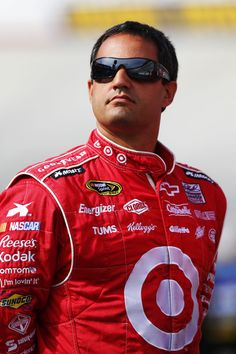 Juan Pablo Montoya.  Nascar driver, My Idol from Bogota, Colombia!