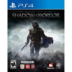 Middle Earth: Shadow of Mordor (PS4) - Walmart.com