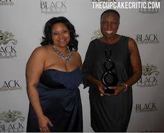 The Cupcake Critic & Essence Magazine's Mikki Taylor at the Black Street Awards (9/17)