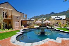 L'ermitage Franschhoek Chateau & Vil - On the slopes of the Franschhoek Pass, amidst sweeping tracts of fynbos, lies the exclusive village of L'ermitage set within the secure grounds of the prestigious Fransche Hoek Estate, nestled between ... #weekendgetaways #franschhoek #southafrica