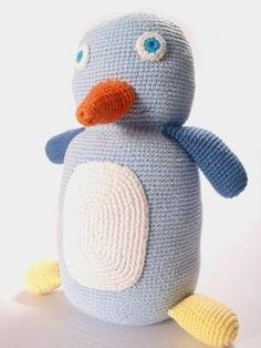 Fair Trade Crochet Penguin