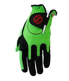 Zero Friction Mens Golf Glove Left Hand One Size Lime Green Color Lime Green Size One Size Model ZFACGOGLOVMLM * Click on the gardening image for additional details.