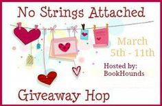Welcome to the No Strings Attached Giveaway Hop!  This hop is to say 'THANK YOU' for all of your support with my various hops  and the March release of THE GREEK'S READY-MADE WIFE. You've made this  adventure into writing fun and rewarding. And a thank you for the lovely  notes I've received from readers. They are always such a nice surprise.  For this giveaway, I'm giving away a $5 Amazon Gift Card for your reading  pleasure.  All you have to do to enter is to leave a name and a way to…