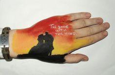 """Рисунок - эмблема из фильма """"Унесённые ветром"""". Одна из ранних моих работ."""