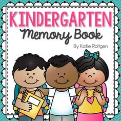 Kindergarten Memory Book - Help your kinders reflect on their school year with this great 17+ page end of year memory book. You get a cover page, all about me, self portrait, my school, my teacher, my friends, first versus last day comparison, what I learned, my favorite book, field trip, recess, memories, when I grow up, summertime, autographs, a note from my teacher, and class photo page. Click through to see how this will work as a keepsake families will treasure forever!