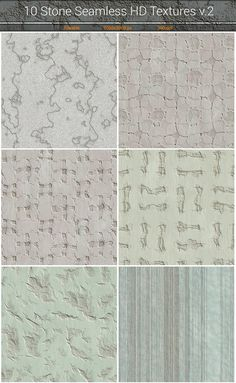 Stone HD Seamless Textures v.2 by Marabu Textures Store on @creativemarket