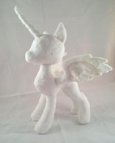 Looking for your next project? You're going to love Unicorn Pegasus Plush Pattern by designer dolphinwing.