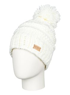 roxy, Winter Beanie, Bright White (wbb0)
