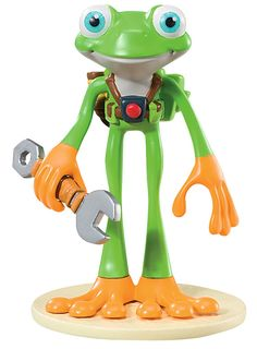Tree Fu Tom - ZigZoo Articulated Figure read more here http://www.toychief.co.uk/tree-fu-tom-toys/