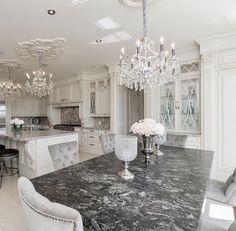Kitchen white glam