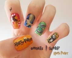 Harry Potter Nails! ♥