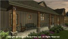 SG-1799 Front Porch House Plan