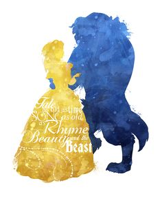 princess belle silhouette beauty and the beast template