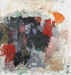 Philip Guston. Prague, 1956. Oil on canvas, 160.7 x 152.4 cm.