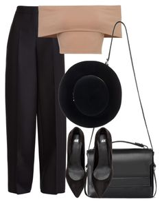 """""""Here I go again"""" by forever-young89 ❤ liked on Polyvore featuring Valentino, AllSaints and Eugenia Kim"""