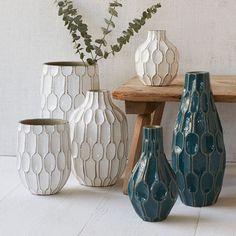 Linework Vases - Honeycomb