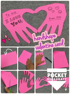 Valentines Art For Kids, Valentine Activities, Valentine Crafts, Diy And Crafts, Crafts For Kids, Paper Crafts, Kindergarten Activities, Preschool Crafts, Pen Pal Letters