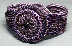 Bead&Button Show: Bead&Button Show Workshops & Classes: Friday May 29, 2015: B151002 Button Willow Bracelet