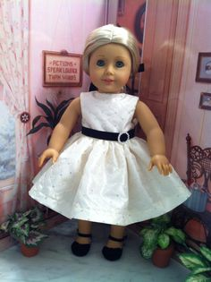 Hey, I found this really awesome Etsy listing at https://www.etsy.com/listing/168968212/american-girl-doll-clothes-fancy-custom