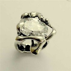 RESERVED to Africablk - payment 2 - Sterling Silver ring with large LABRADORITE stone - Like a dream.. $138.00, via Etsy.