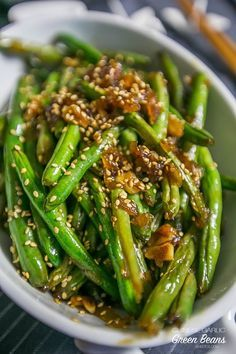 Garlic Chinese Green Beans