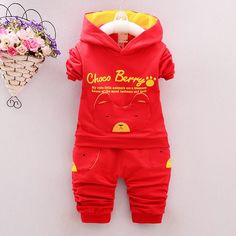 2016 new autumn fashion baby cartoon clothing sets hooded jacket + trousers suit for infant chilren boys girls pullover clothes #>=#>=#>=#>=#> Click on the pin to check out discount price, color, size, shipping, etc. Save and like it!