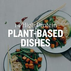 We have rounded up 14 High Protein Plant-Based Dishes that cover every meal of the day, along with some snack options to keep you feeling full when the 3pm cravings hit.