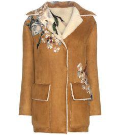 eb285a8e2b2d6 VALENTINO Shearling-Lined Suede Jacket.  valentino  cloth  jackets Veste  Daim,