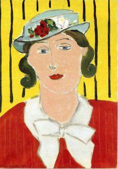 Henri Matisse - Woman Portrait, 1939