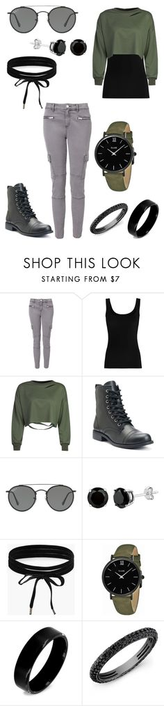 """""""Untitled #99"""" by weirdoqueen on Polyvore featuring Witchery, Twenty, WithChic, Ray-Ban, Boohoo, CLUSE, West Coast Jewelry and Anne Sisteron"""