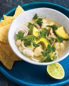 New Mexico Green-Chile Pozole - Martha Stewart Recipes
