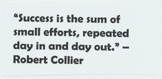 Get motivated to run, quote from Robert Collier (American author of self-help)