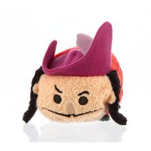 Hook - mini tsum tsum plush - disney store - peter pan collection
