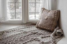 Obchod predajcu - Marcellinna deky / SAShE.sk Blanket, Knitting, Home, Tricot, Breien, Ad Home, Stricken, Weaving, Blankets