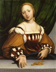 Hans Holbein the Younger, Lais Corinthiaca, 1526