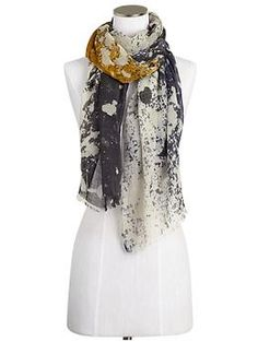 Michael Stars Smudged Ink Scarf | Piperlime