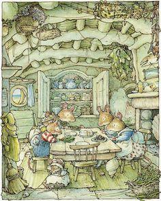 Mouse family - dinner