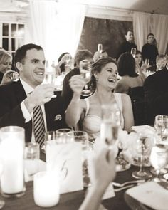 "See the ""Don't Forget the Hard Copies"" in our Wedding Toast Dos and Don'ts gallery"